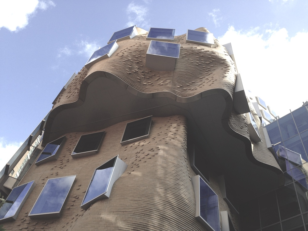 Providing facade access for the inspired vision of Frank Gehry's UTS building