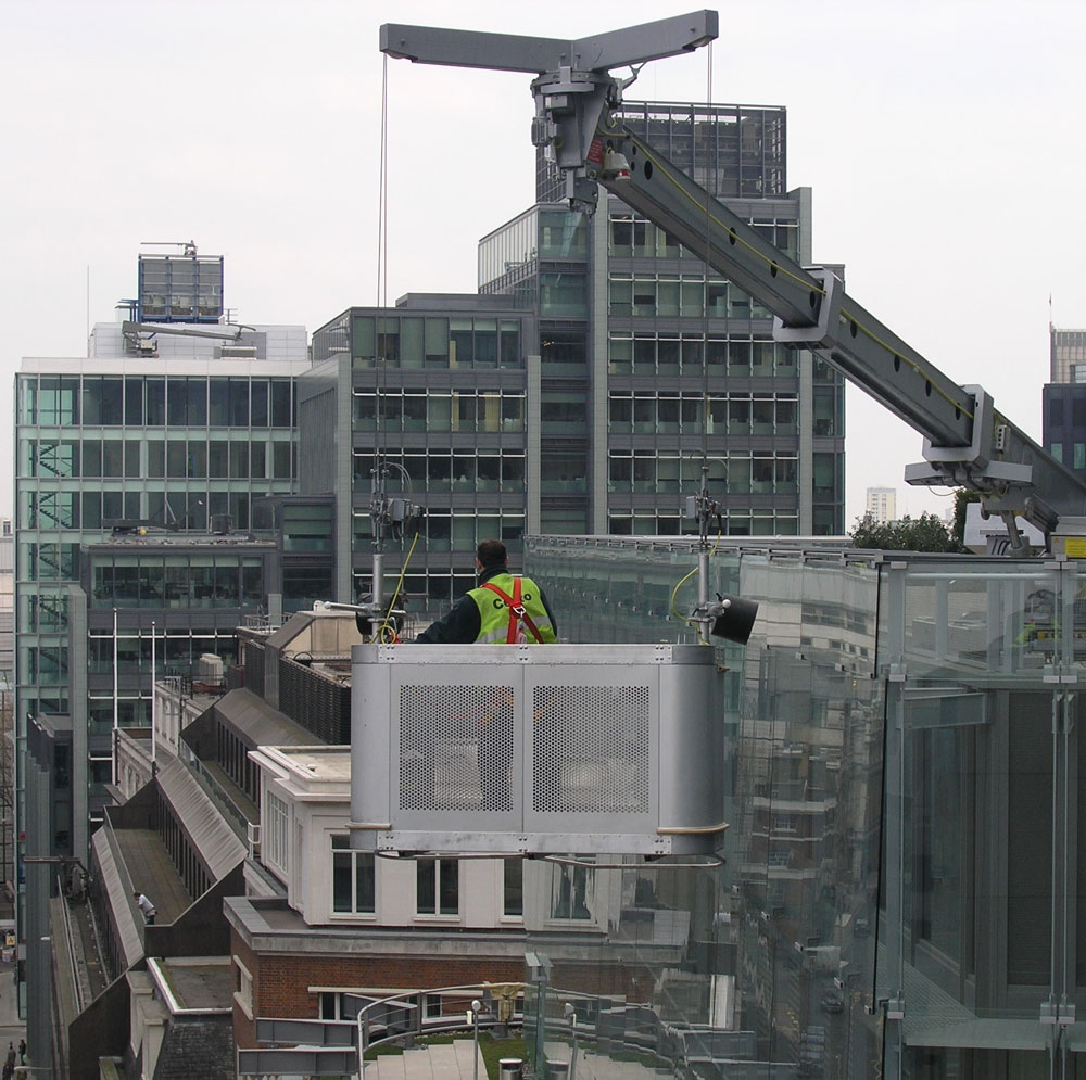 Complete building maintenance solutions with the functionality for glass replacement